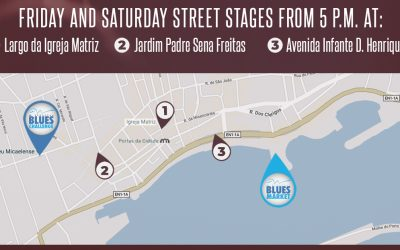 Friday and Saturday Street Stages from 5 P.M.
