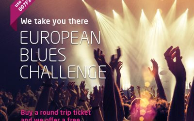 SATA AZORES AIRLINES takes you to EUROPEAN BLUES CHALLENGE.