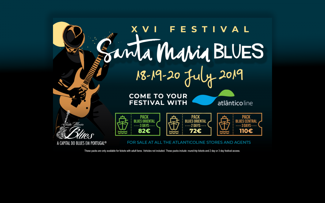 Come to Santa Maria Blues Festival with ATLANTICO LINE