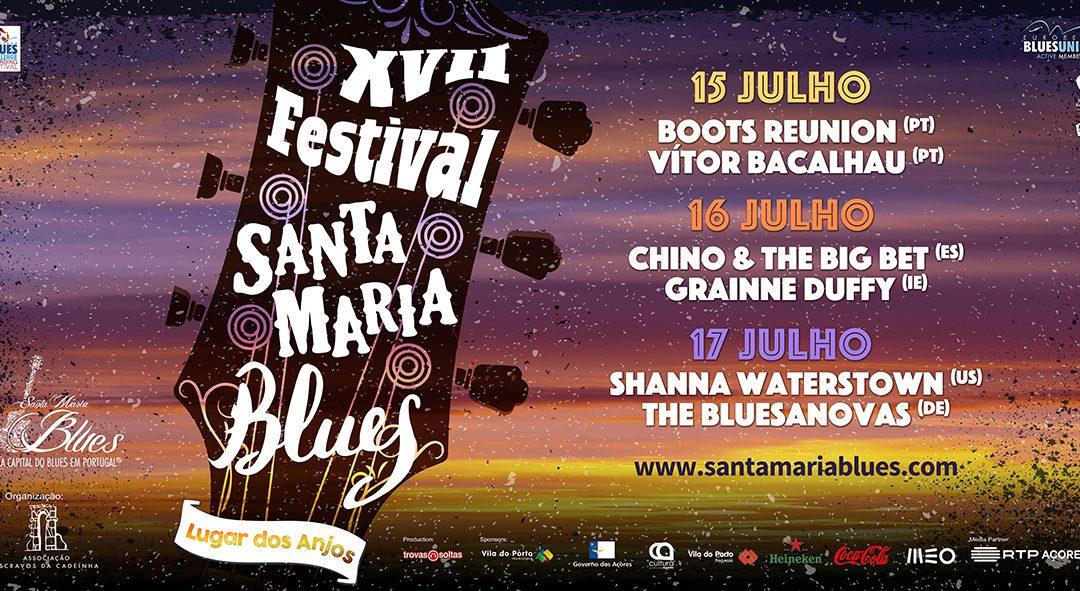 Line-up do Festival Santa Maria Blues está cá fora!